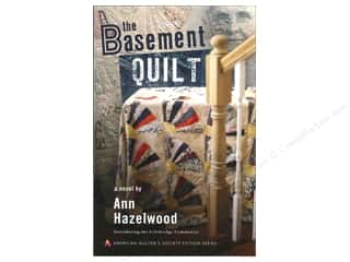 Journal & Gift Books: American Quilter's Society The Basement Quilt Book by Ann Hazelwood
