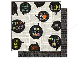 Halloween Spook-tacular: Simple Stories Paper 12 x 12 in. Frankie & Friends Collection Happy Haunting (25 sheets)