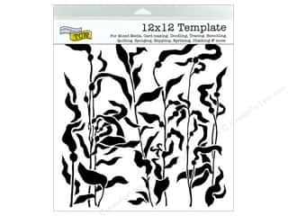 ruler: The Crafter's Workshop Template 12 x 12 in. Kelp Forest