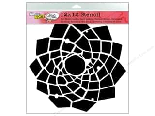 Clearance The Crafters Workshop Template: The Crafter's Workshop Template 12 x 12 in. Trapezoid Flower