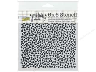 Clearance The Crafters Workshop Template: The Crafter's Workshop Template 6 x 6 in. Spotted