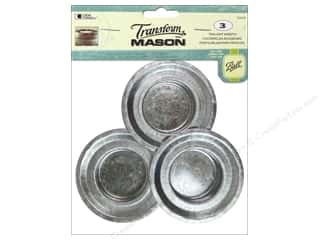 ball mason transform paint: Loew Cornell Transform Mason Tealight Inserts 3 pc.