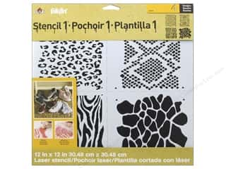 Plaid Stencil Designer Animal Print
