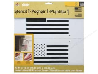 Plaid Stencil Designer Flag