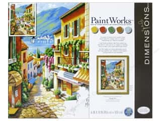 Weekly Specials Paint Brushes: Paintworks Paint By Number Kit 16 x 20 in. Village Steps