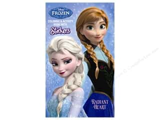 Bendon Publishing: Bendon Coloring & Activity Book with Stickers Disney Frozen - Radiant Heart