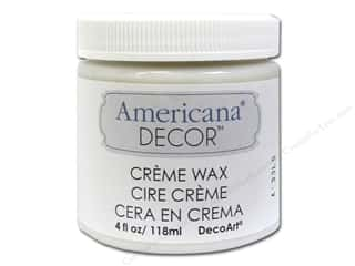 DecoArt Americana Decor Creme Wax 4 oz. Clear