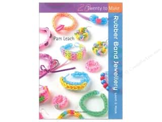 beading & jewelry making supplies: Search Press Twenty To Make Rubber Band Jewellery Book