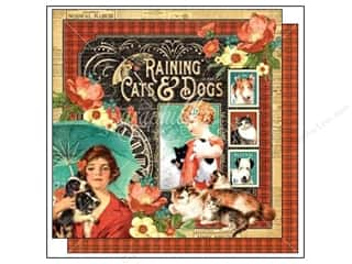 Graphic 45: Graphic 45 12 x 12 in. Paper Raining Cats & Dogs (25 sheets)