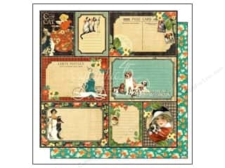 Graphic 45: Graphic 45 12 x 12 in. Paper Raining Cats & Dogs Four-Legged Friend (25 sheets)