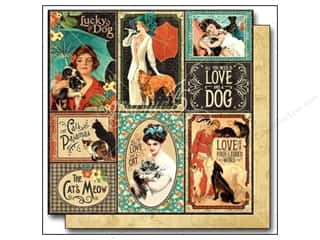 Graphic 45: Graphic 45 12 x 12 in. Paper Raining Cats & Dogs Well Bred (25 sheets)
