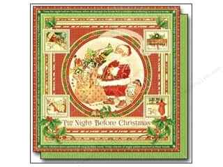 holiday sale: Graphic 45 12 x 12 in. Paper Twas The Night Before Christmas (25 sheets)