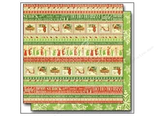 Cardstock Sale: Graphic 45 12 x 12 in. Paper Twas The Night Before Christmas Ho Ho Ho (25 sheets)
