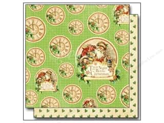 Cardstock Sale: Graphic 45 12 x 12 in. Paper Twas The Night Before Christmas Jolly Old Elf (25 sheets)