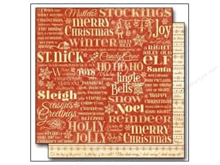 Holiday Sale Printed Cardstock: Graphic 45 12 x 12 in. Paper Twas The Night Before Christmas Merry Mistletoe (25 sheets)
