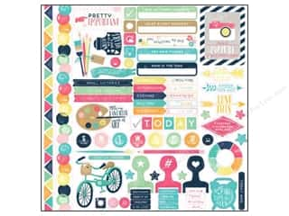 agenda blue & company: Echo Park Creative Agenda Collection Stickers Elements (15 sets)