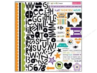 Weekly Specials DieCuts Box of Cards: Bella Blvd Stickers Halloween Magic Treasures & Text (12 sets)