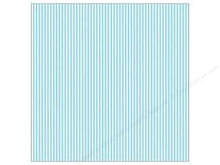 paper blue: Canvas Corp 12 x 12 in. Paper Blue & Ivory Ribbon Stripe (15 sheets)