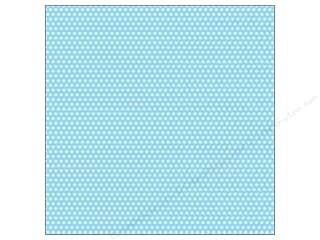 Canvas Corp 12 x 12 in. Paper Blue & Ivory Mini Dot Reverse (15 sheets)