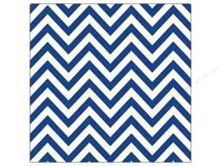 Canvas Home Basics: Canvas Corp 12 x 12 in. Paper Navy & Ivory Chevron (15 sheets)