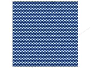 Canvas Home Basics: Canvas Corp 12 x 12 in. Paper Navy & Ivory Mini Dot Reverse (15 sheets)