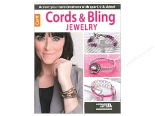 beading & jewelry making supplies: Leisure Arts Cords & Bling Jewelry Book