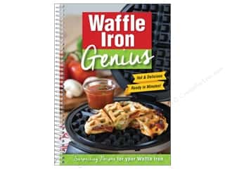 Cookbooks: CQ Products Waffle Iron Genius Book