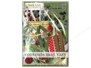 Best of 2012 Bo Bunny Paper & Sticker Collection Pack: Bo Bunny Ephemera Christmas Collage
