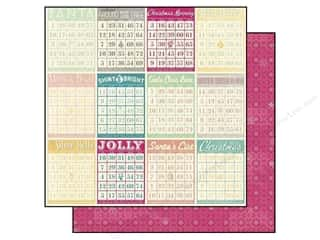 Holiday Sale Designer Papers & Cardstock: Bo Bunny 12 x 12 in. Paper Candy Cane Lane Holiday (25 sheets)