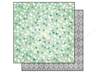 Winter Wonderland Pattern: Bo Bunny 12 x 12 in. Paper Candy Cane Lane Wonderland (25 sheets)