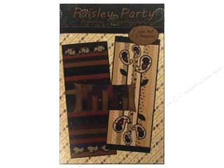 Kansas Troubles Quilters Paisley Party Pattern