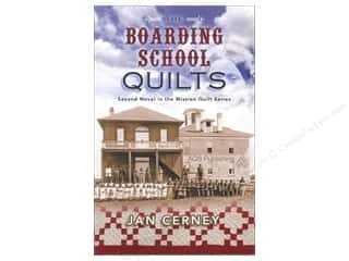 Journal & Gift Books: American Quilter's Society The Boarding School Quilts Book by Jan Cerney
