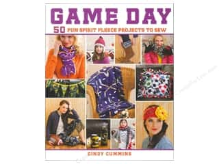books & patterns: St Martin's Griffin Game Day 50 Fun Spirit Fleece Projects To Sew Book
