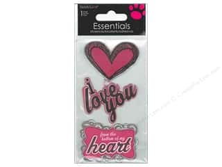 scrapbooking & paper crafts: SandyLion Sticker Essentials I Love You