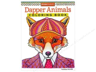 Design Originals Dapper Animals Coloring Book