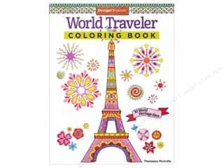books & patterns: Design Originals World Traveler Coloring Book