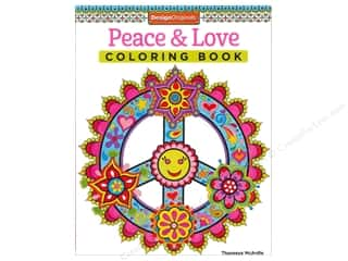 books & patterns: Design Originals Peace & Love Coloring Book
