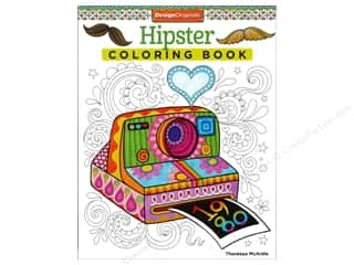 books & patterns: Design Originals Hipster Coloring Book