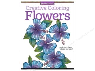 books & patterns: Design Originals Flowers Coloring Book