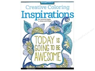 Design Originals Inspirations Coloring Book