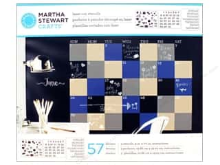 craft & hobbies: Martha Stewart Stencils by Plaid Chalkboard Calendar
