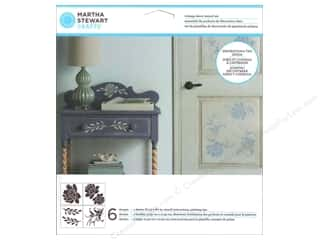 Martha Stewart Effect by Plaid: Martha Stewart Stencils by Plaid Vintage Decor Blossom