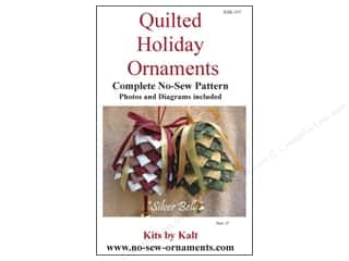 home decor pattern: Kits By Kalt Quilted Holiday Ornaments Silver Bells Pattern
