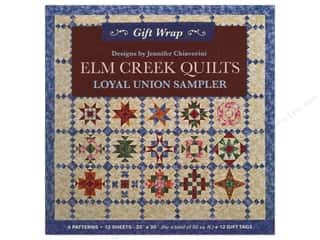 Gift Wrap & Tags: C&T Publishing Gift Wrap & Tags Elm Creek Quilts by Jennifer Chiaverini