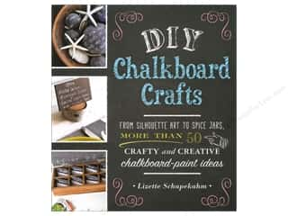 Adams Media Corporation DIY Chalkboard Crafts Book by Lizette Schapekahm