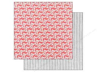 American Crafts 12 x 12 in. Paper Amy Tangerine Stitched Repeat (25 sheets)