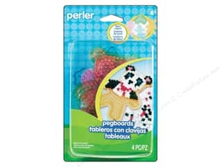 Perler Fused Bead Pegboards Clear Gem 4pc
