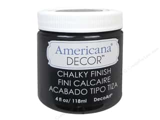 carbon: DecoArt Americana Decor Chalky Finish 4 oz. Carbon