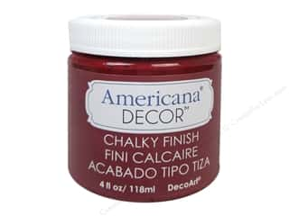 craft & hobbies: DecoArt Americana Decor Chalky Finish 4 oz. Rouge
