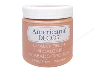craft & hobbies: DecoArt Americana Decor Chalky Finish Paint - Smitten 4 oz.